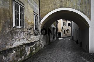 Altstadtgassen in Steyr, Oberösterreich, Österreich, Europa / Oldtown City in Steyr, Upper Austria, Austria, Europe
