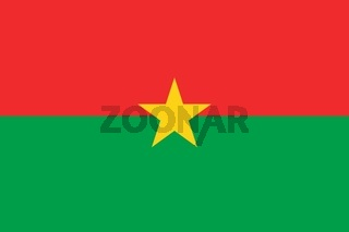 The national flag of Burkina_Faso