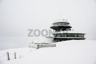 Winter im Riesengebirge in Tschechien