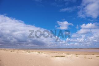 Strand und Himmel
