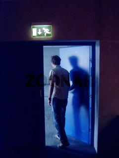 Notausgang / Emergency exit