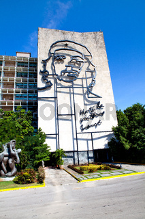 Che Guevara steel outline