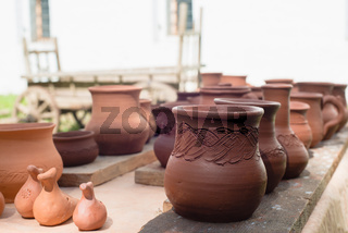 pottery in stock