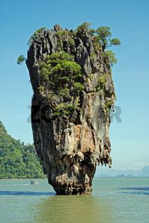 James Bond Felsen, Ao Phang-Nga National Park, Thailand, Asien / James Bond rock, Ao Phang-Nga National park, Thailand, Asia