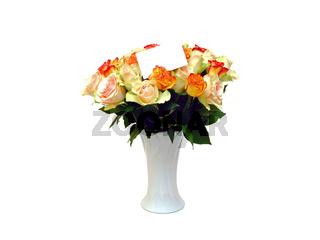 ein Strauss Rosen / a flower bouquet