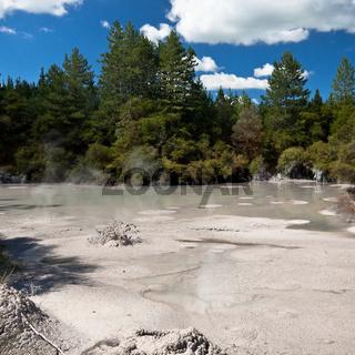 Geothermal mud pool