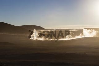Sol de Mañana, Bolivien