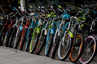 Zweiräder zu verkaufen