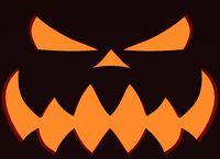 Pumpkin with Evil Laugh