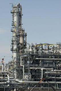 Raffinerie (ÖMV) Schwechat, Niederösterreich, Österreich