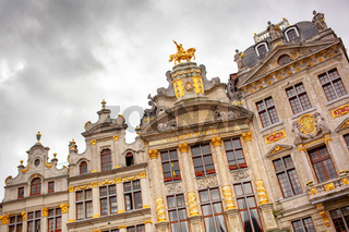 Grand place is beautiful and elegant landmark in Brussels