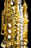 Sopransaxofone, Klappen, Detailaufnahme