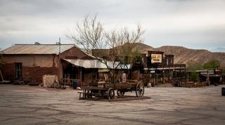 Calico Ghost town, in san bernardino county, USA