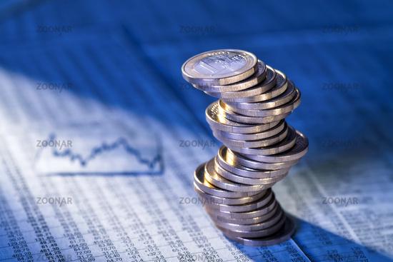 Änderungen im Devisenkurs des Euro