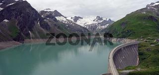 Kaprun Dam, Mooserboden lake