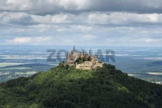 Die Burg Hohenzollern bei Hechingen
