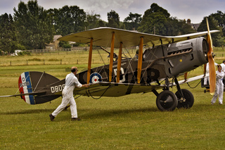 UK Shuttleworth Preparing A Bristol F2B For Flight