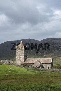 St Clement's Kirche, erbaut im 13. Jahrhundert vom Clan der MacLeods