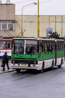 Ikarus-Bus in der Slowakei