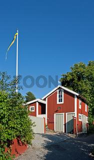 Schwedische Sommerhäuser