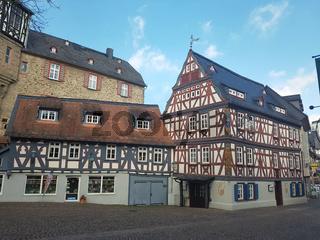 Gasthaus zur Peif, Fachwerkhaeuser, Altstadt, Idstein