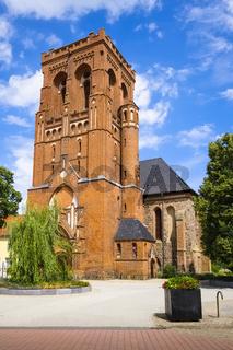 Stadtpfarrkirche St. Katharinen, Schwedt/Oder, Brandenburg, Deutschland