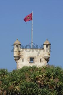 Turm in Cadiz. Andalusien