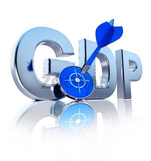 GDP zeichen