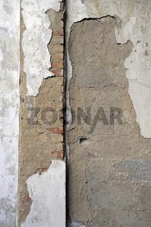 verfallene Wand