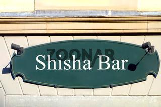 schild shisha bar