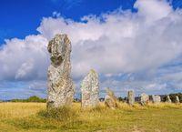 Steinreihen von Lagatjar, Halbinsel Crozon in der Bretagne - Alignements de Lagatjar, Crozon in Brittany