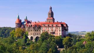 Schloss Fuerstenstein in Schlesien - castle Fuerstenstein in Silesia