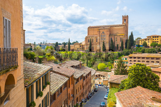 Basilica of San Domenico, Siena, Tuscany, Italy