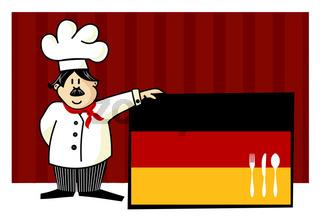 Chef of german cuisine
