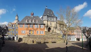 Kanzleitor, Burg- und der Schlossfelsen, ehemalige, Burganlage
