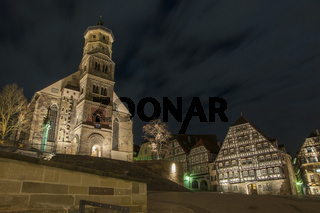 Marktplatz in Schwaebisch Hall
