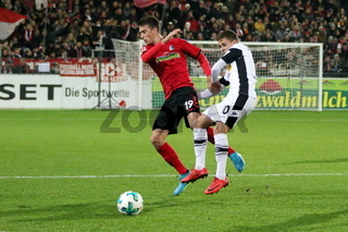 1. BL: 17-18 - 16. Spieltag -  SC Freiburg vs. Bor. Mönchengladbach