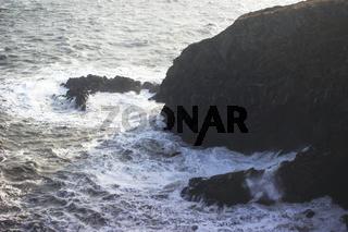 Brandung an der irischen Ostküste, Howth