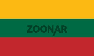 The national flag of Lithuania