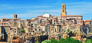 City of Pitigliano in Tuscany