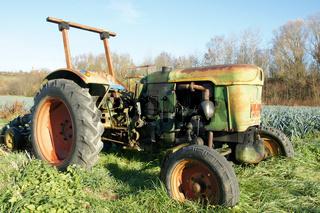 Alter Schlepper, Traktor, old tractor