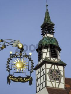 Waiblinger Altstadt, Waiblingen, Baden-Wuerttemberg