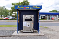 Autogas-Tankstelle