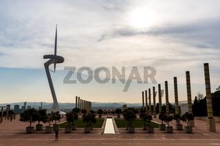Calatrava Tower, Barcelona
