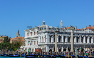 The Doge's Palace, landmarks of the city of Venice in northern Italy