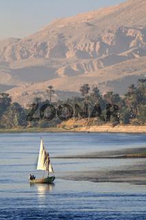 Feluke auf dem Nil
