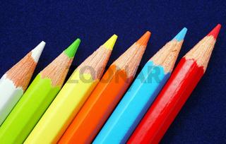 Buntstifte mit diversen Farben