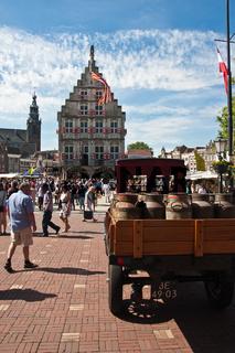 Gouda, eine Stadt in der niederländischen Provinz Südholland
