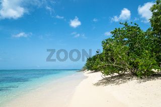 Beach 'La Plage du Souffleur', Guadeloupe