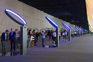 Ausstellungshalle der Firma Samsung , Internationale Funkausstel